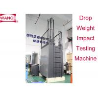 Buy cheap ISO3127 Standard Drop Weight Impact Test Machine Adjustable Workbench product