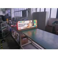 China Digital Rooftop LED Displays 3.33mm LED Taxi Topper LED Screens wholesale