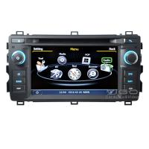 Buy cheap Multimedia Car Stereo Toyota Sat Nav Autoradio GPS Navigation For Toyota Auris C308 product
