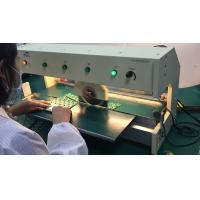 Buy cheap Microcomputer Program Pre-scored V Cut Pcb Depaneling ,PCB Cutting Machine, from wholesalers