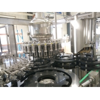Buy cheap Pulp Beverage 12000bph Glass Bottle Filling Machine product