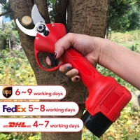 Buy cheap 25mm New Design Electric Li-Battery Pruning Electric Scissors Tree Pruner Shears With Shear Diameter For Sale product