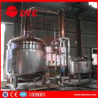 China 2350 Gallon Steam Hearting Copper Pot Still With A Gin Basket on sale