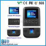 Buy cheap Bio-200 High Security Fingerprint Time Clock + Door Entry Control product