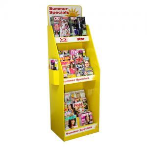 Buy cheap Floor Cardboard Display Rack ,  Pop Up Paper Book Display Stand product
