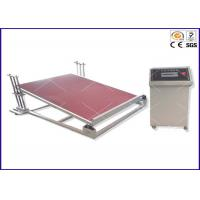China YY1114 Toys Testing Equipment 0 - 15 Degree Inclined Plane Device For Stability Test on sale