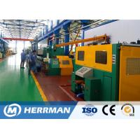 Fast Speed  Rod Breakdown Cable Drawing Machine For Copper And Aluminum Wire for sale