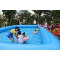 Customized inflatable family pool large inflatable for Inflatable family swimming pool