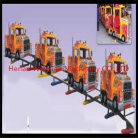 Buy cheap 10% disaccount of  31M track 16seats truck shape electric rail trains for kiddies and adults product