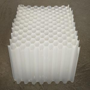 Buy cheap Inclined PP Hexagonal Honeycomb Lamella Tube Settler product