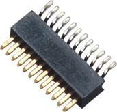 Buy cheap 90° SMT connecteur d'en-tête de Pin de lancement de 1 millimètre/en-tête simple de Pin de rangée product