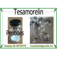 Buy cheap Growth Hormone GHRH Peptide Powder Tesamorelin For Fat Loss CAS 218949-48-5 product