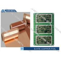 Buy cheap Single Shiny Heavy ED PCB Copper Foil 1/4OZ ~ 3OZ 1295mm×1295mm product