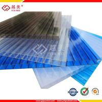 China clear plastic sheeting plastic polycarbonate sheet roof panel on sale