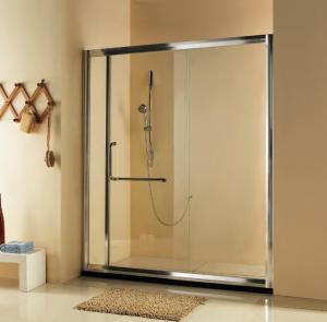 Buy cheap Hot sell self-cleaning Bathroom Sliding Shower Doors /Frameless Glass Shower Door product