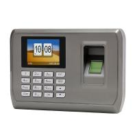 Buy cheap ISO9001 Certified 2.8 inch TFT  Time Attendance Equipment Support Different Language product