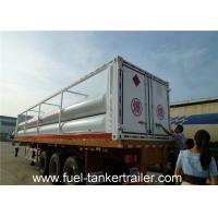 Buy cheap CNG tube skid chemical tank trailer Truck with Seamless steel tubes product