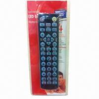 Buy cheap Universal Remote Control with LED Backlight and Powerful IC product