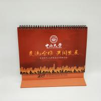 China 4 Color Printing Custom Desk Calendar For Business Gift Customized Size on sale