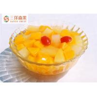 Buy cheap Bulk Delicious Organic Mixed Canned Fruit In Light Syrup No Preservatives product