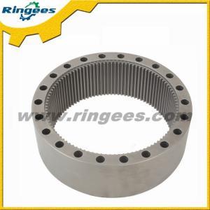 Engranaje de anillo de la maquinaria del oscilación del excavador de KOMATSU PC200-6, anillo del engranaje del oscilación del motor del aceite