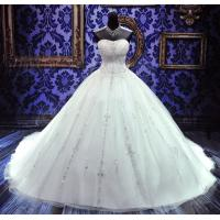 Buy cheap Court Train Sweetheart Neckline Wedding Dress Sleeveless Lace Up product