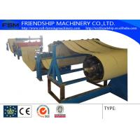 Buy cheap 4KW 380v 50Hz  Slitting Line Machine Metal Rollforming Systems , 0.4-0.8mm Thickness product