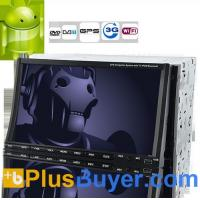 Buy cheap Road Cyberman - 2 DIN Android 2.3 Car DVD Player with 7 Inch Capacitive Touchscreen, DVB-T, GPS, 3G+WiFi product
