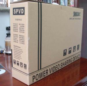 Buy cheap Câble 800m équipement de transmission de surveillance de produit de puissance du canal un de SPVD 16, de vidéo et de télévision en circuit fermé de signal de commande product