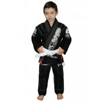 Buy cheap Eco friendly Ripstop BJJ GI kimonos jiu jitsu Black Martial Arts Gi in Black product