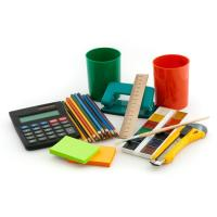 Buy cheap Customized mini notebook,pencil,caculator,staple,holder,ruler for office stationery product