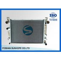 China Manual Welded Diesel Performance RadiatorFit BENZ W220'98 30% More Cooling on sale
