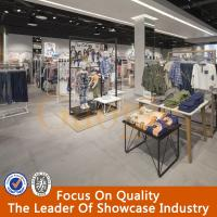 Buy cheap high quality retail garment shop interior design furniture for garment display product