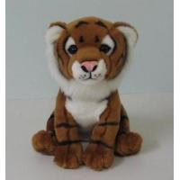 Buy cheap 23 Cm Plush Wild Animals - Brown Tiger product