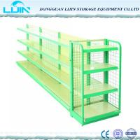 Buy cheap 5 Levels Metal Supermarket Display Racks Powder Coated Surface Various Color product