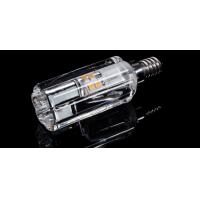 Buy cheap led crystal candle bulb light E14 E12 SMD2835 led chip Epistar CE dimmable lighe source from wholesalers