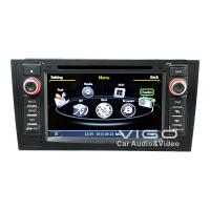 Buy cheap Audi A6 Car Stereo Sat Nav DVD , Auto Radio GPS Navigation C102 product