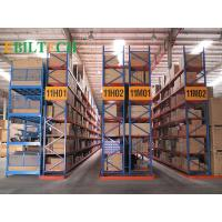 Buy cheap ISO Warehouse  VNA Racking System Flour Selective Customized Printing Galvanized Storage product