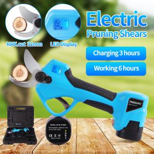 Buy cheap 16.8V 32mm Forbici elettriche nuove, cesoie per rami, cesoie da giardino a batteria al litio, cesoie radio product