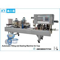 Buy cheap Automatic Carbon Steel Drinking Water Cup Filling Machine Cup Soda Water Produce LIne product