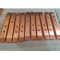 Buy cheap Copper CNC Machining Services / CNC Machining Milling Parts With Chromium Plating product