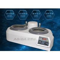 Buy cheap Specimen Grinding Metallographic Polishing Machine With Abrasive Paper product