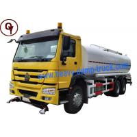 Buy cheap China Heavy Duty Sprayer Water Truck 6x4 Drive Type with 20000 Liter Water Tank product