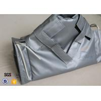 China High Temp Insulation Jacket Heat Resistant Exhaust Blanket Cover For Gate Valve on sale