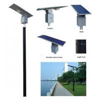 Buy cheap 30W Amorphous Flexible Solar LED Spot Light product