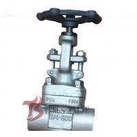 Buy cheap 3/4 Inch Industrial Globe Valve 800LB , Forged Stainless Steel Globe Valve from wholesalers
