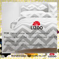 China phase change material( PCMS)  layer caotton quilt NEW technology developed in China on sale