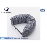 China Car Accessories Gray Neck Travel Pillow , Memory Foam Head Pillow With Different Color wholesale