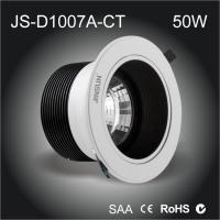 Buy cheap Fire Proof safe LED downlight 50w cob led downlight Sliver water proof,IP54 ,IP65 availabl product