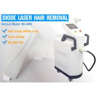 China 810nm Diode Laser Permanent Hair Removal Equipment With Colorful Touch Screen Control Panel wholesale